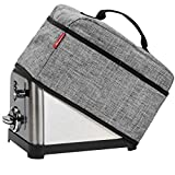 NICOGENA Toaster Dust Cover with Handle Compatible