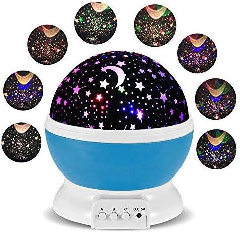 Lámparas Infantiles Lámpara de Proyector Estrella Luces navidad ...