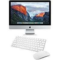 Apple iMac MK482LL/A 27-Inch Retina 5K Display Desktop (Intel Quad-Core i5 3.3GHz, 8GB RAM, 2TB Fusion Drive, Mac OS X), Silver (Certified Pre-Owned)