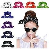 Lanzom 8 Pieces Women Fashion Elastic Hair Band Turban Head Band Hair Accessories (Style G)