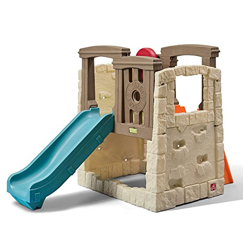 Step2 Naturally Playful Woodland Climber - Kids Durable Plastic Slides and...