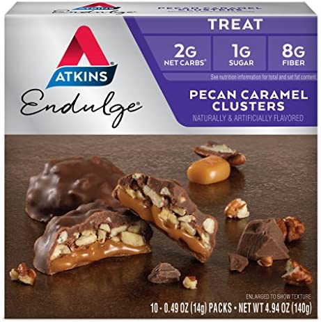 Atkins Endulge Treat Caramel Cluster