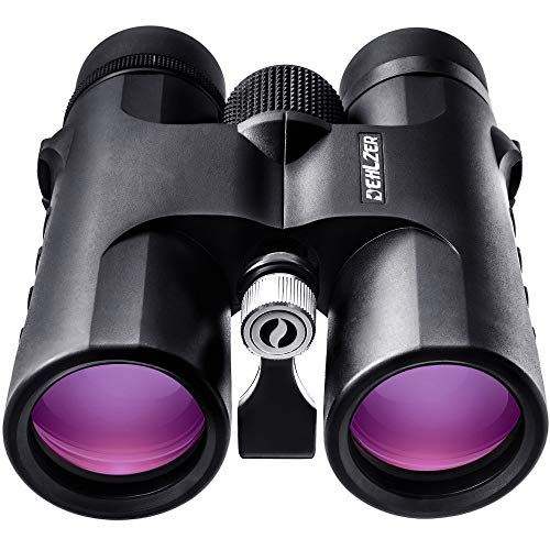 Binocular 10x42 with Tripod Mount and Carry Case, HD Quality, BAK 4 Roof Prism,...