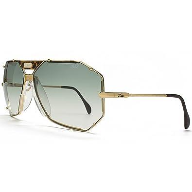 738045826 Cazal Legends 905 Aviator Sunglasses in Gold Green 905 097 65 65 Gradient  Green