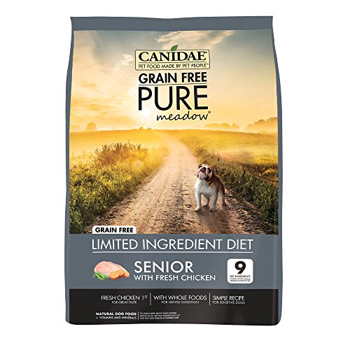 canidae-grain-free-pure-meadow-senior-dog-dry-formula-with-fresh-chicken-24-lbs