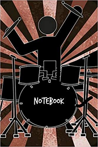 Descargar PDF Gratis Notebook: Drums Personalised Homework Book Notepad Notebook Composition And Journal Gratitude Diary