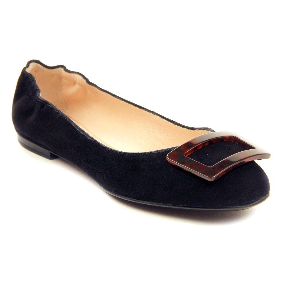 Sesto Meucci Women's 28439 Flats Shoes B01E7TU60S 8.5 N (A)|Black Suede