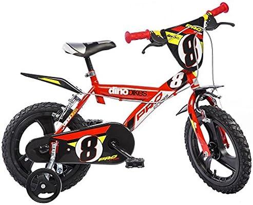 Dino Bikes 163 GLN – Bicicleta para niño 16 de 6 a 8 años: Amazon ...