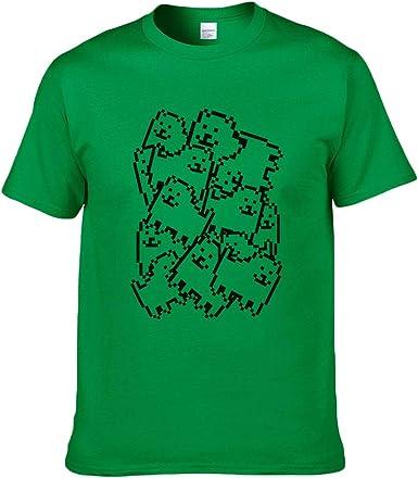Undertale Camiseta Camisa de Verano Pie de Imprenta Cráneo ...