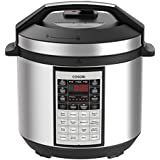 COSORI 6 Quart 8-in-1 Multi-Functional Programmable Pressure Cooker, Slow Cooker, Rice Cooker, Steamer, Sauté, Yogurt Maker, Hot Pot and Warmer, Full Accessories Included,Stainless Steel