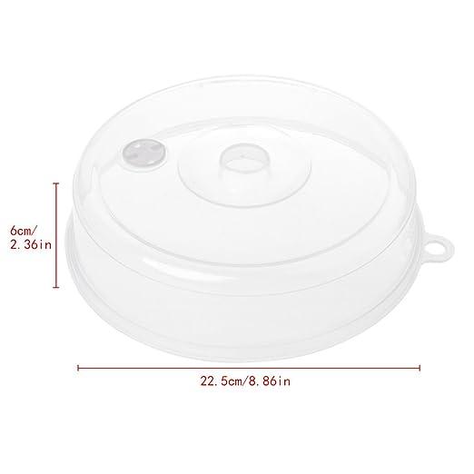 SimpleLife Cubierta de Placa de microondas con ventilación de ...