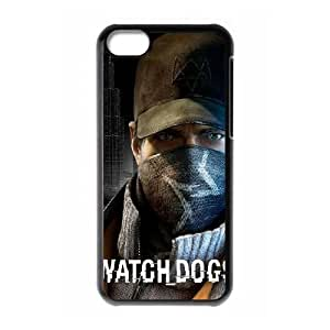iPhone 5C Phone Case Black Watch Dogs ES3TY7838594