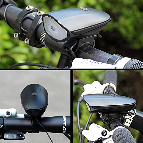 Q-Yuan USB Rechargeable Bike Light Set POWERFUL Lumens Bicycle Headlight FREE TAIL LIGHT, LED Front and Back Rear Lights Easy To Install for Kids Men Women Road Cycling Safety Flashlight by Q-Yuan (Image #6)