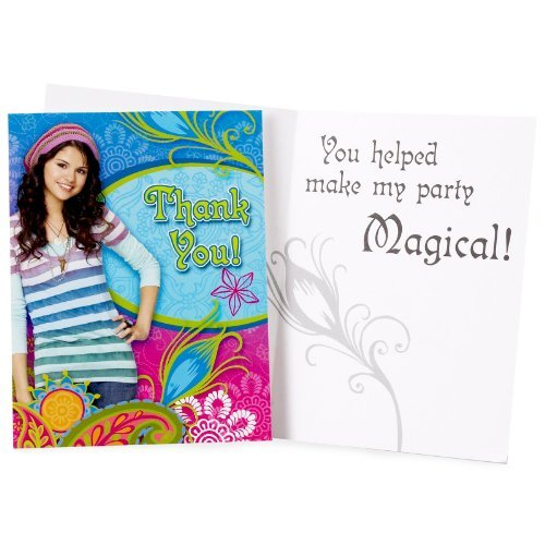 Wizards Of Waverly Place Thank You Notes w/ Envelopes (8ct)]()