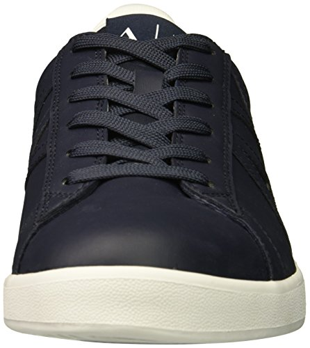 Sneaker Exchange Cut Logo Men Armani A X Navy Tonal Low nfUEW8c