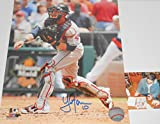 Yan Gomes Cleveland Indians Autographed Signed 8x10 Photo Picture