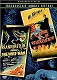 Frankenstein Meets the Wolf Man / House of Frankenstein (Universal Studios Frankenstein Double Feature)
