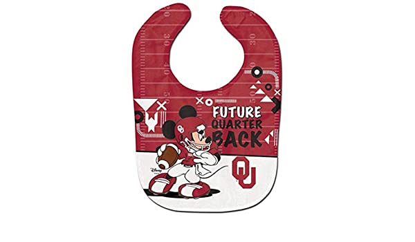 WinCraft NCAA University of Oklahoma Disney All Pro Baby Bib