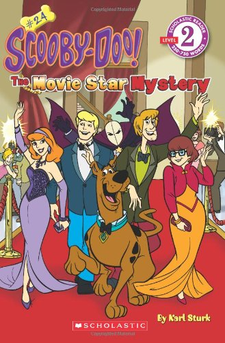 Scooby-Doo! No. 24: The Movie Star Mystery (Scholastic Reader, Level -