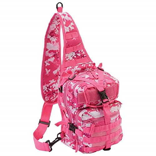 Extreme Pak™ Pink Digital Camouflage 11'' Sling Backpack by BF001