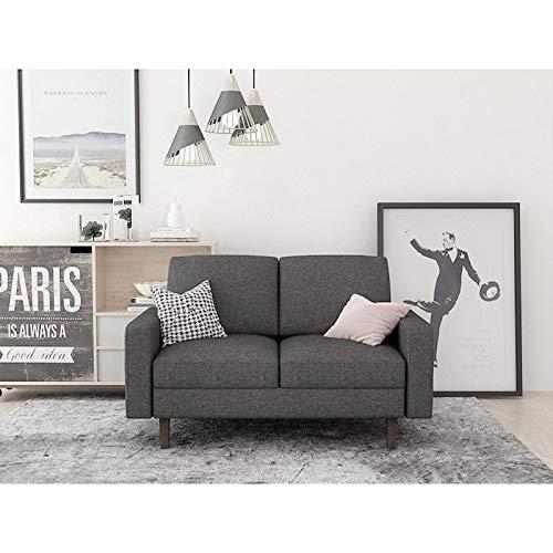 Amazon.com: US Pride Furniture Goss Loveseat Dark Blue ...