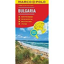 Bulgaria Marco Polo Map