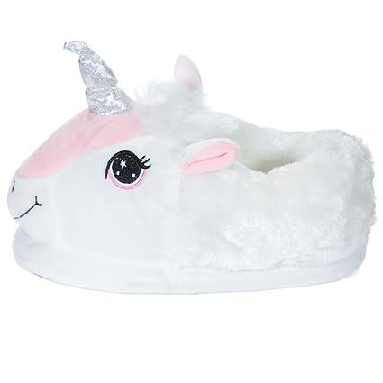 vendita uk Guantity limitata bello e affascinante Puckator Ciabatte Pantofole Unicorno Taglia Unica Bambina