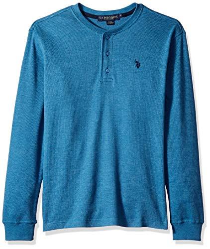 U.S. Polo Assn. Mens Long Sleeve Thermal Henley