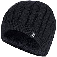 Heat Holders Alesund Cable Knit Thermal Hat Beanie Womens One Size