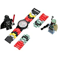 Lego Star Wars Boba Fett and Darth Vader Kids Watch