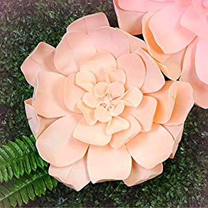 """Inna-Wholesale Art Crafts New 8 pcs 20"""" Blush Artificial Daisy Decorating Flowers for Wall Backdrop Party Craft - Perfect for Any Wedding, Special Occasion or Home Office D?cor 110"""