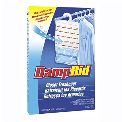 Hanging Damprid Prevents Mildew, Mold U0026 Musty