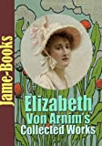 Front cover for the book The Benefactress by Elizabeth von Arnim