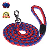 Dog Rope Leash Dog Leash for Small Medium Large Pets Premium Quality Nylon Rope 5 FT The Most Comfortable Traction Distance