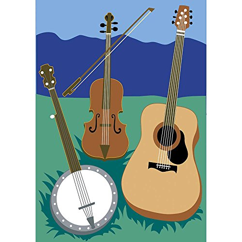 bluegrass-banjo-acoustic-guitar-violin-18-x-13-rectangular-double-applique-small-garden-flag