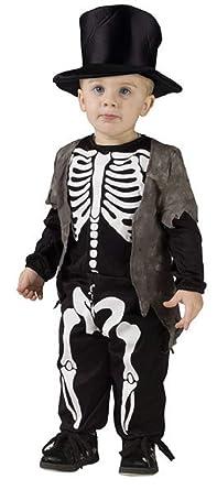 Amazon.com: Disfraz de esqueleto inteligente para Halloween ...