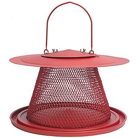 No/No Red Cardinal Bird Feeder C00322 Pack-2