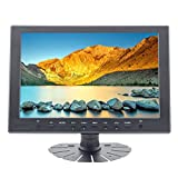 Sourcingbay 10.1 Inch TFT LCD IPS Monitor with HDMI/VGA/AV/USB/Audio/ Input Support Max Resolution 1920 X 1080