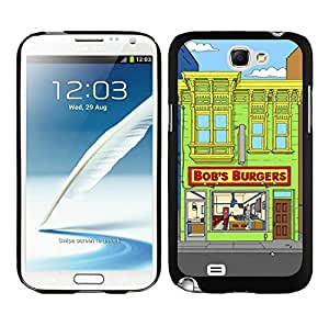 Customized Case Bob's Burgers 4 Black Case for Samsung Galaxy Note 2