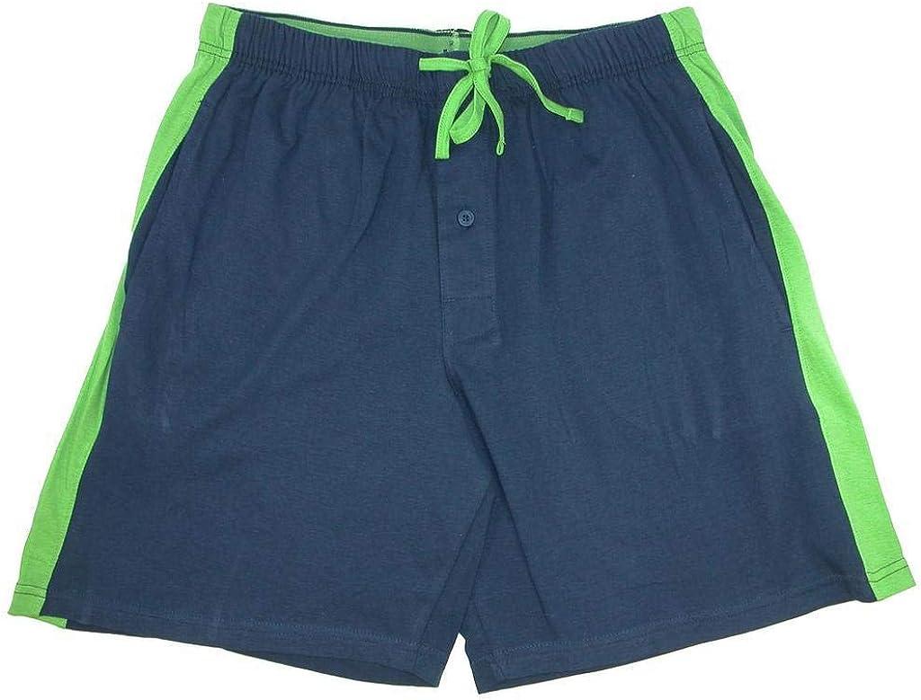 Hanes Mens 2-Pack Knit Sleep Pajama Drawstring Shorts