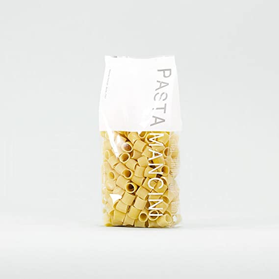 Pasta Mancini - Mezze Maniche gr 500 - Package In Envelope Transparent