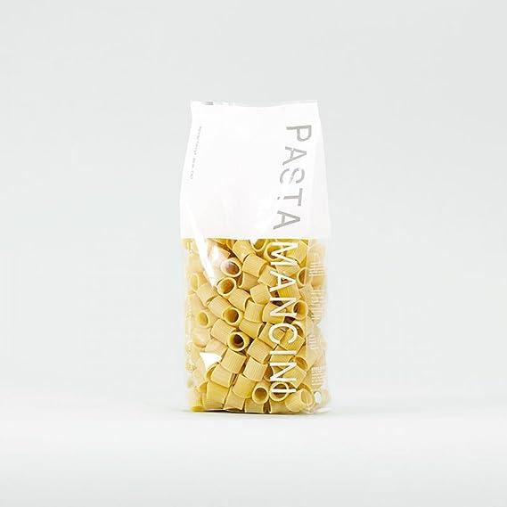 Pasta Mancini - Mezze Maniche gr 500 - Package In Envelope Transparent