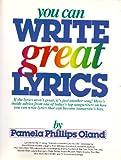 You Can Write Great Lyrics, Pamela P. Oland, 0898793637