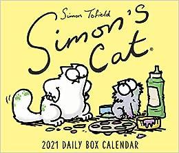 Simon's Cat - Kalender 2021: Daily Box