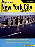 Hagstrom New York City, 5 Borough Large Type Street Atlas, Not Available (NA), 1592459099