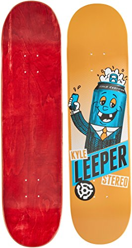 Stereo Skateboards Mascot Kyle Leeper Skateboard Deck, 8,Color may vary (Upper Deck)