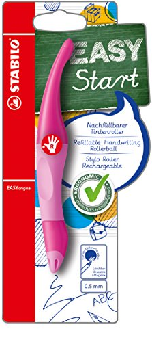 STABILO EASYoriginal Handwriting Pen Right Handed - Light/Dark Pink