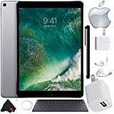 Apple 10.5 iPad Pro (512GB, Wi-Fi Only, Space Gray) Mid 2017 Version - Bundle with Apple Smart Keyboard
