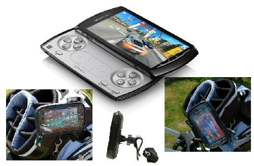 Buybits Waterproof Sony Ericsson XPERIA Play Phone Case with Clip Mount for Golf Bags (sku 9030) (Ericsson Phone Sony Case)