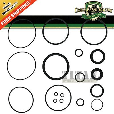 DGPN3301B New Ford Tractor Seal Kit For Power Steering Cylinder 5700, 6700 +